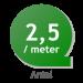 Thuja Brabant 230-275cm